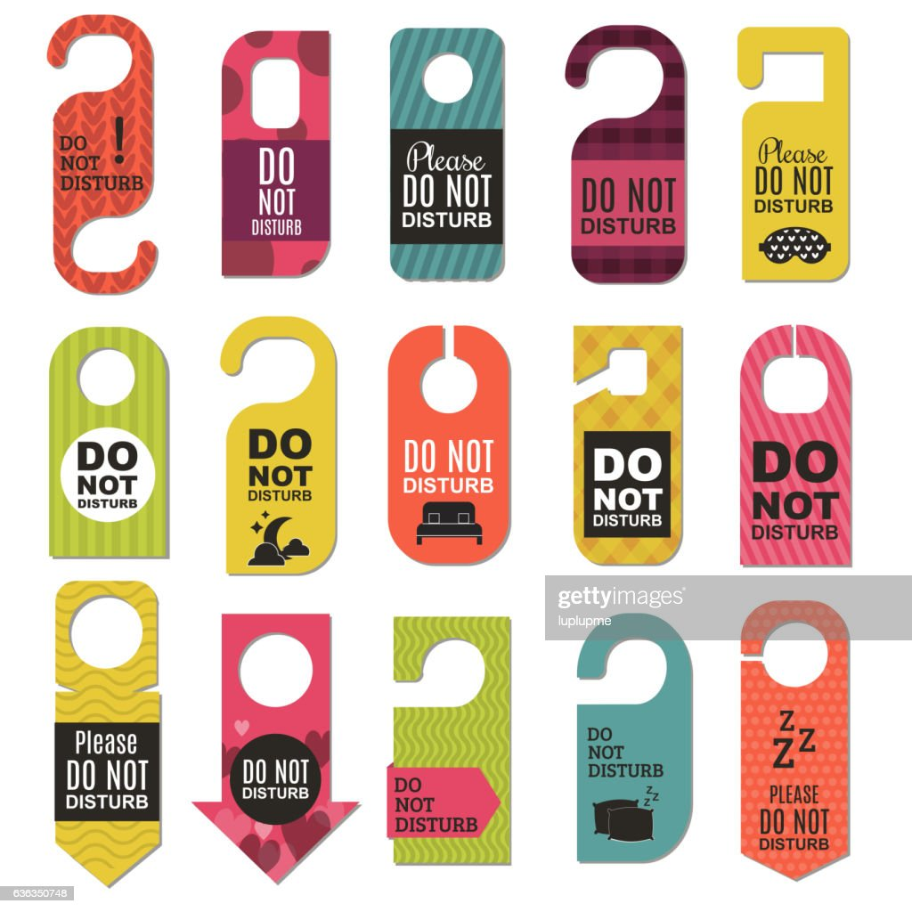 Please do not disturb hotel design