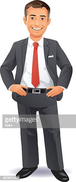 Pleased Businessman