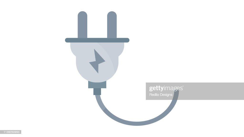 Plug icon : Stock Illustration