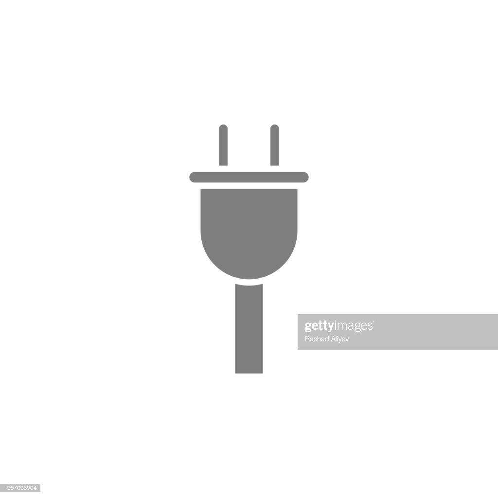 Plug icon. Web Icon. Premium quality graphic design. Signs, outline symbols collection, simple icon for websites, web design, mobile app