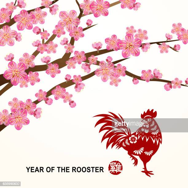 Plum Blossom of Rooster Year