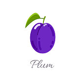 Plum icon with title