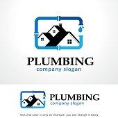 Plumbing Symbol Template Design Vector, Emblem, Design Concept, Creative Symbol, Icon