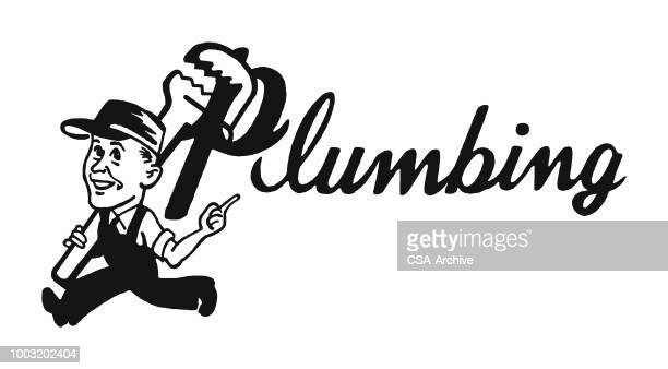 plumbing - plumber stock illustrations, clip art, cartoons, & icons