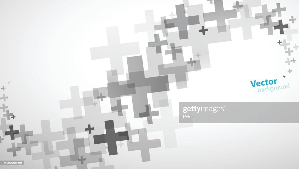 Plus sign abstract background wallpaper.