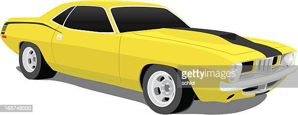 Plymouth 'Cuda Muscle Car from 1970