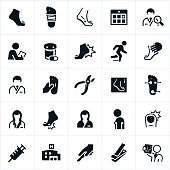 Podiatry Icons