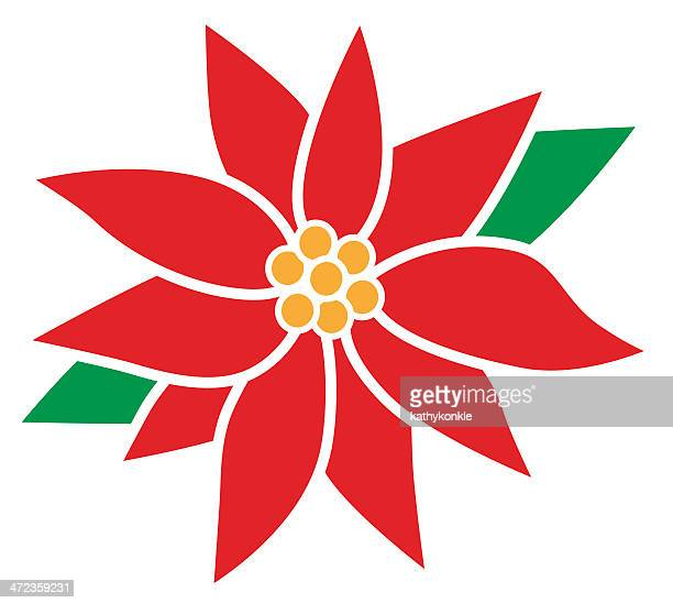 Poinsettia Stock Illustrations And Cartoons Getty Images