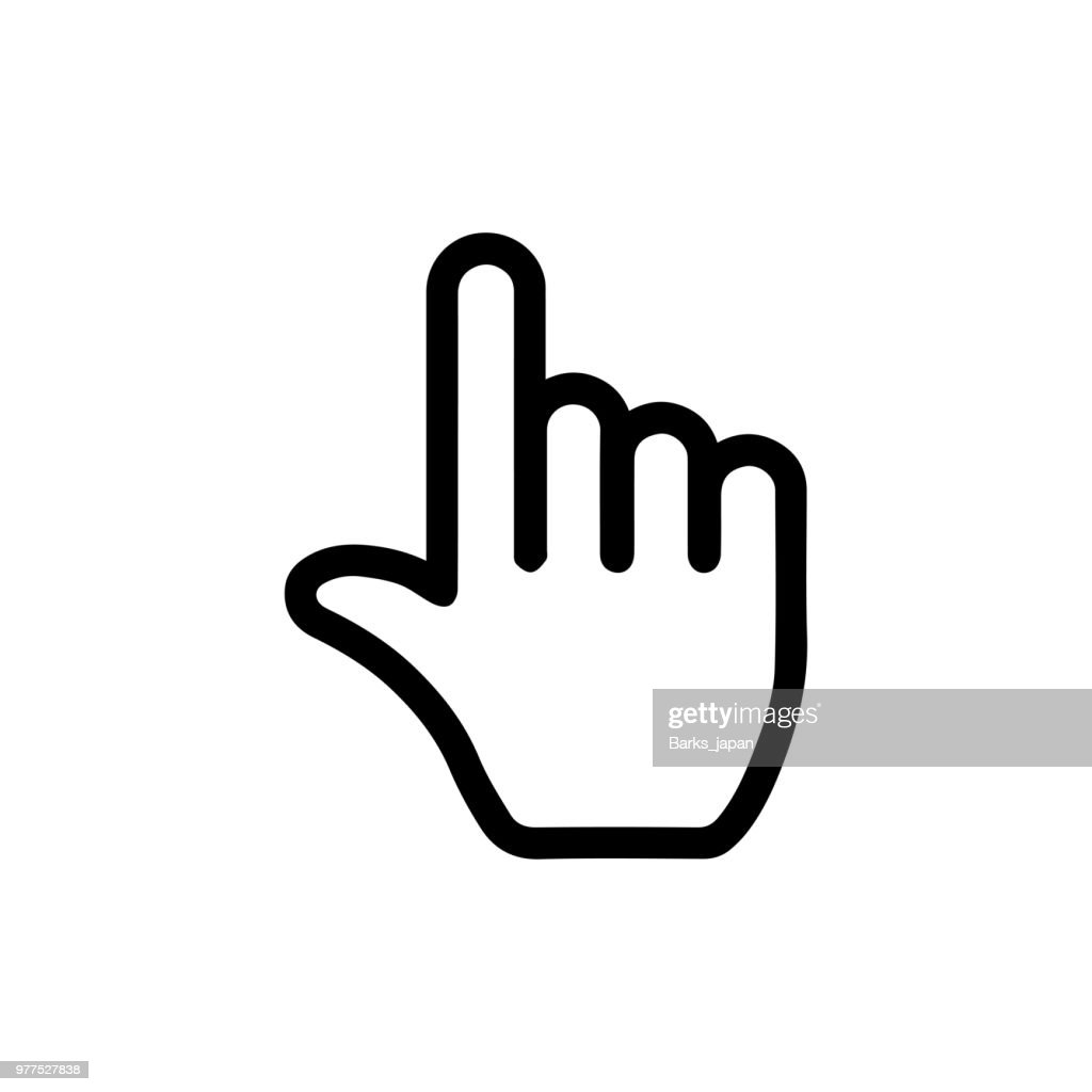 pointer / click icon (finger,hand)