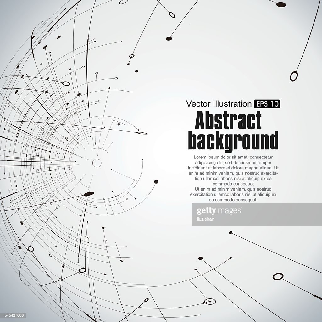 Points, curves, surfaces formed wireframe sphere.
