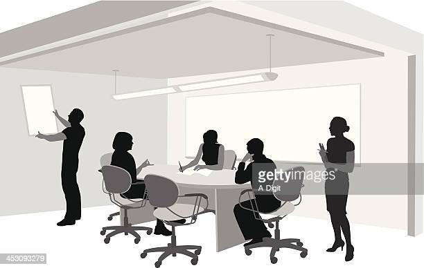 points - conference table stock illustrations, clip art, cartoons, & icons