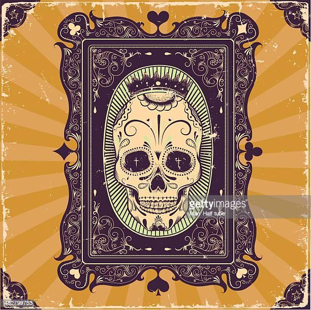 Poker card frame