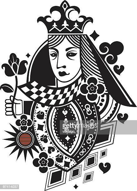 poker card gueen