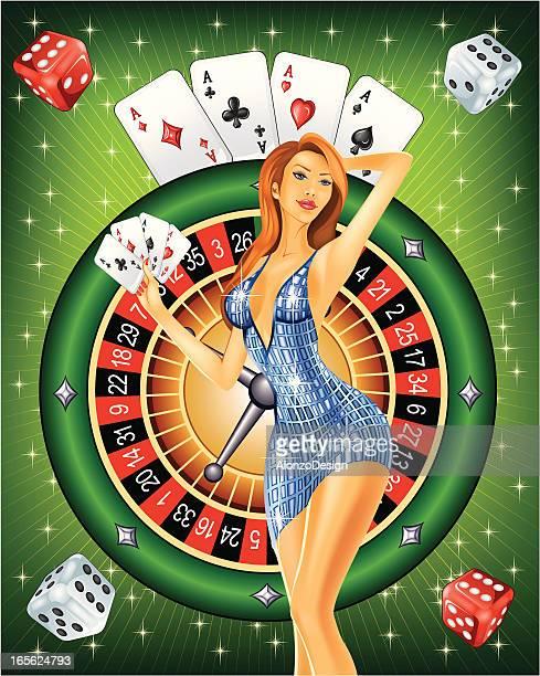 Poker lady