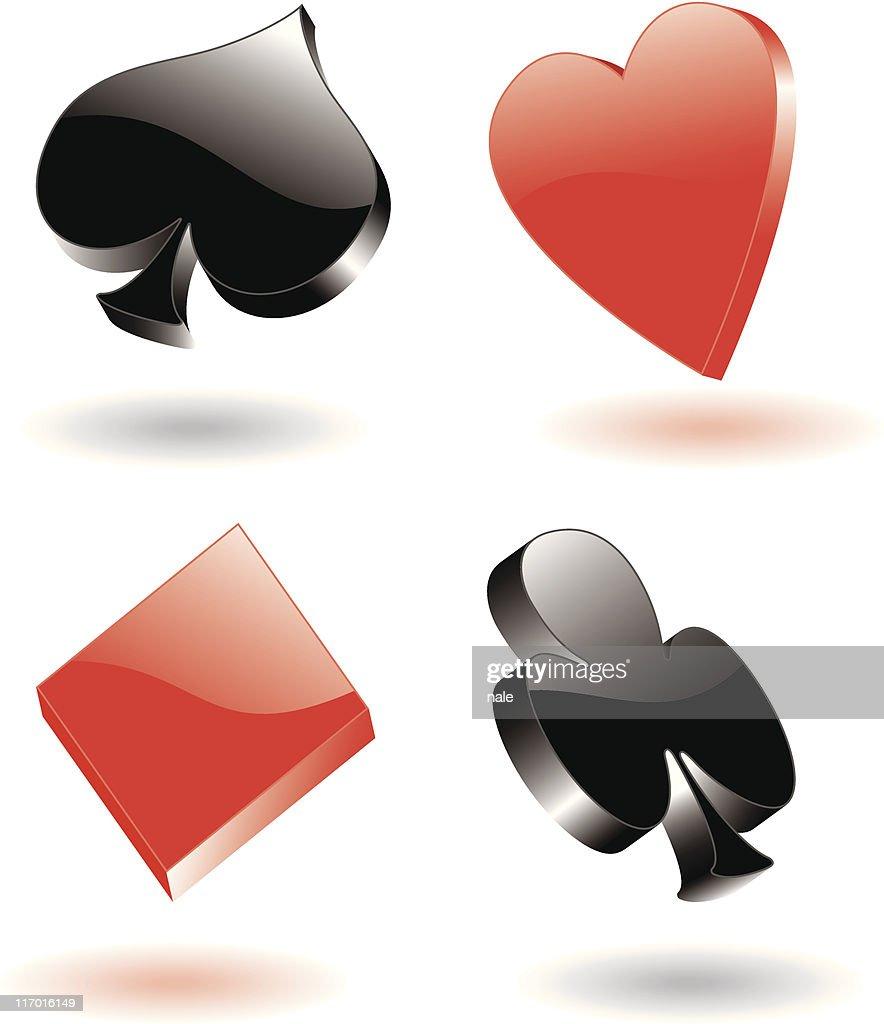 poker signs 3d