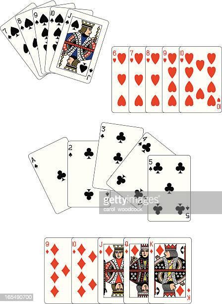 Poker Straight Flush