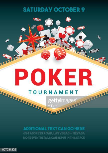 Poker tournament poster
