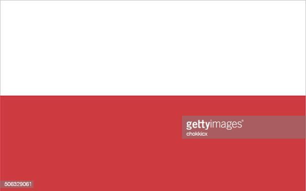 polen flagge - polnische flagge stock-grafiken, -clipart, -cartoons und -symbole