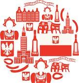 Poland Icon set