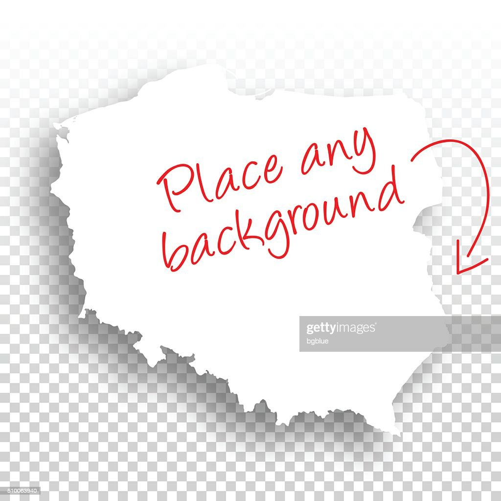 Poland Map For Design Blank Background High Res Vector Graphic Getty Images
