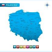Poland Vector Map