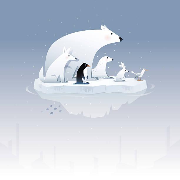 Polar Bear And Friends Wall Art