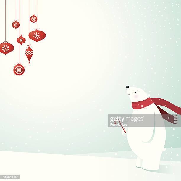 ilustraciones, imágenes clip art, dibujos animados e iconos de stock de oso polar & decoración - oso polar