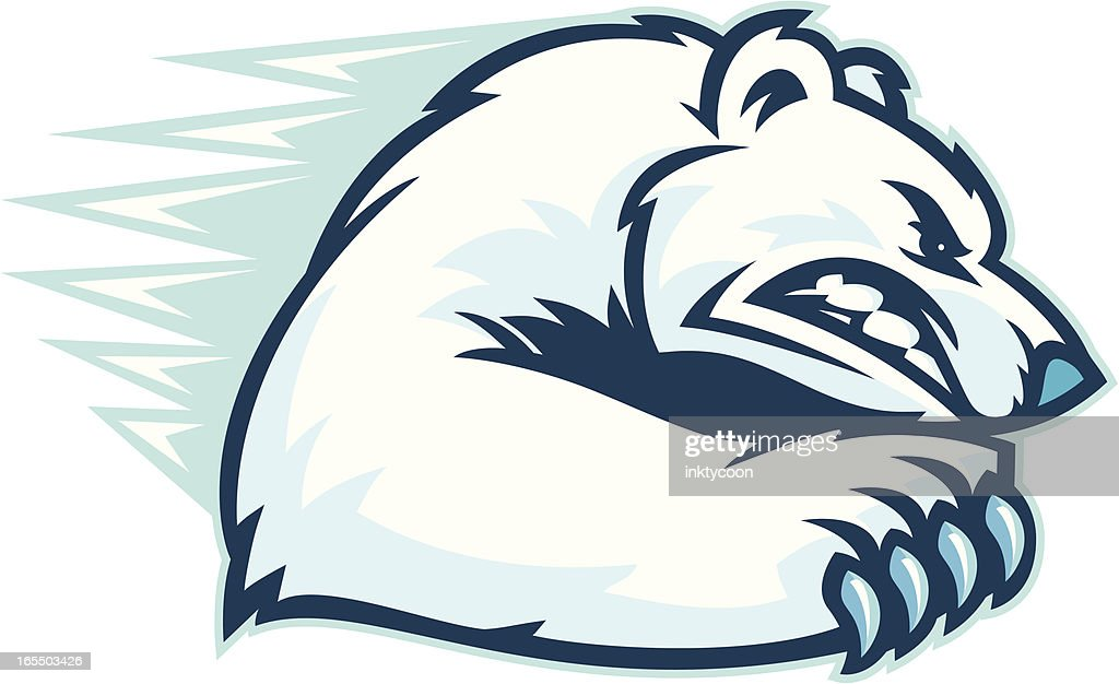 Polar Bear Scratch.