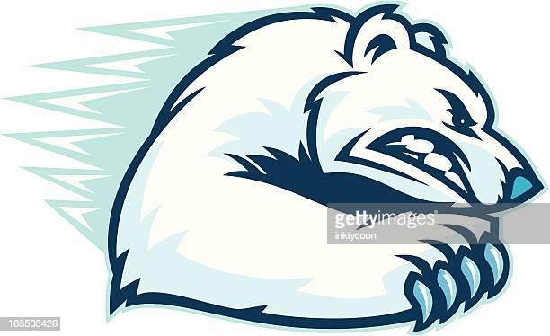 illustrations, cliparts, dessins animés et icônes de ours polaire zéro. - ours polaire