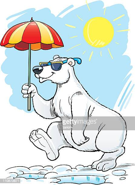 ilustraciones, imágenes clip art, dibujos animados e iconos de stock de oso polar - oso polar