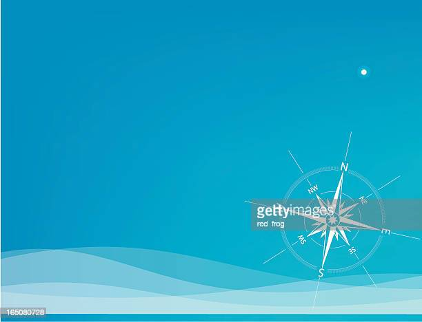 polar star - north star stock illustrations