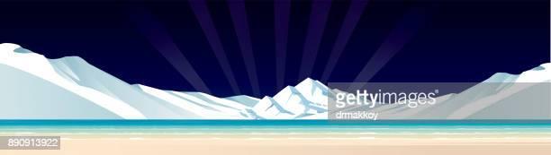 polar - antarctica stock illustrations, clip art, cartoons, & icons