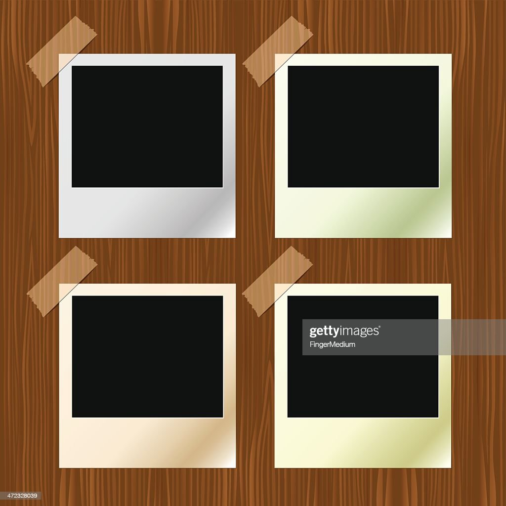 Polaroid Frames Vector Art | Getty Images