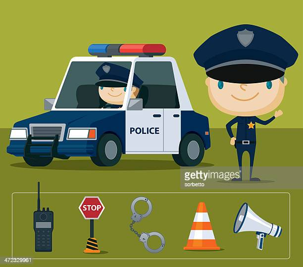 Police And Media: 60 Top Police Car Stock Illustrations, Clip Art, Cartoons