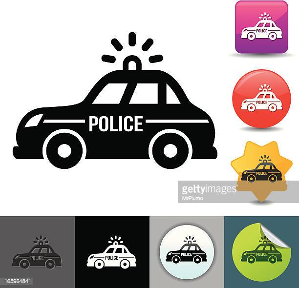 Police car icon | solicosi series