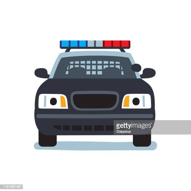 police car - police car stock illustrations