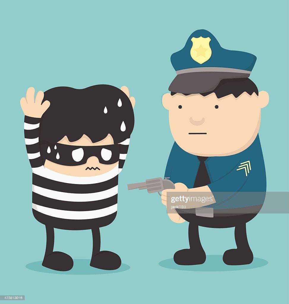 Police Catch Thief