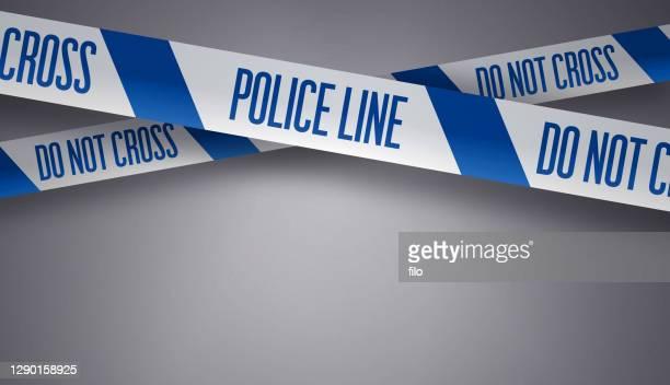 警察ラインは交差しません - セントラル・ロンドン点のイラスト素材/クリップアート素材/マンガ素材/アイコン素材