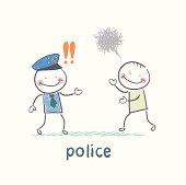 Police listen to the girl who runs