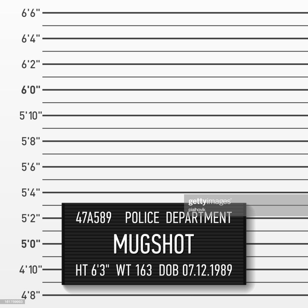 Police mugshot