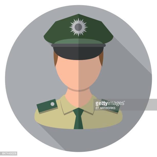 Polizeichef Icon