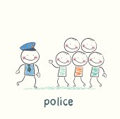 Police said the criminals