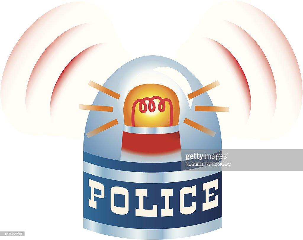 Police Siren Vector Art Getty Images