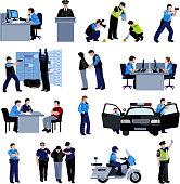 policeman people icons