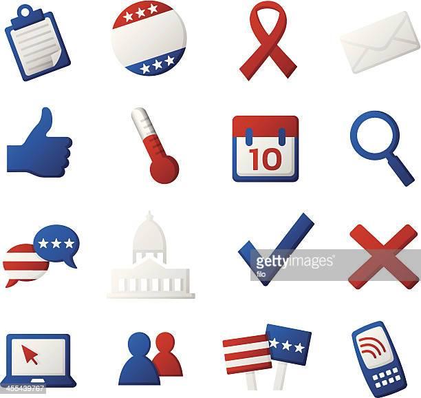 ilustrações, clipart, desenhos animados e ícones de ícones políticos - petição