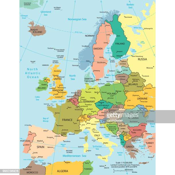 Mapa De Europa Central.World S Best Central Europe Stock Illustrations Getty Images