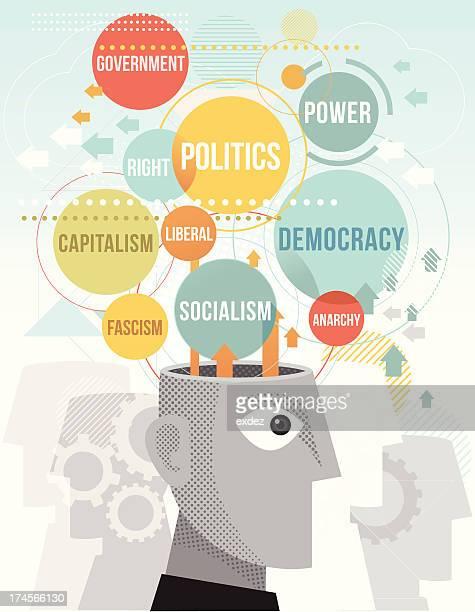 ilustraciones, imágenes clip art, dibujos animados e iconos de stock de términos políticos - socialismo