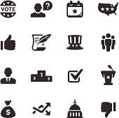 Politics Icons | Mono Series