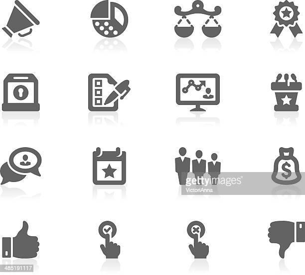 politics silhouette_gracy series_33 - bill of rights stock illustrations
