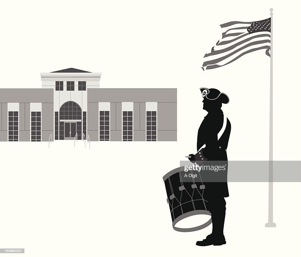 Politics Vector Silhouette : stock illustration